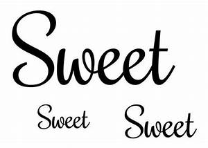 Sweet-Script Tattoos | Tatt Me Temporary Tattoos