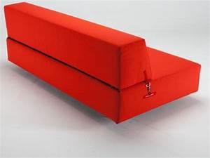 Canape clic clac convertible en lit en 2 secondes for Tapis design avec canapé mousse haute résilience