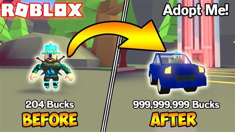 loads  bucks roblox adopt  youtube