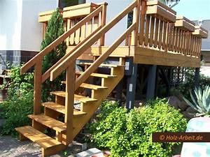 Treppenaufgang Außen Gestalten : terrassen balkone holz ~ Markanthonyermac.com Haus und Dekorationen
