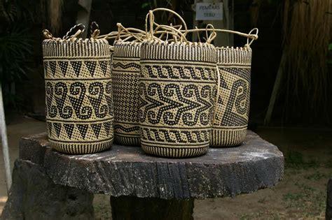 anjat tas punggung suku dayak balai pelestarian cagar budaya kalimantan timur