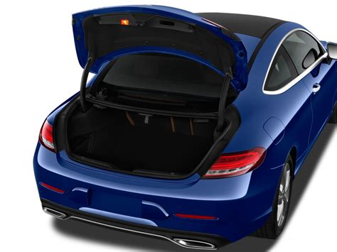 image  mercedes benz  class  coupe trunk size