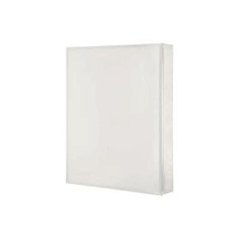 Pegasus Medicine Cabinets Sp4586 by Pegasus 15 In X 26 In Frameless Aluminum Recessed Or