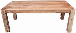 table bois moderne With table moderne en bois