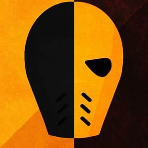 Deathstroke mask by zerons on DeviantArt