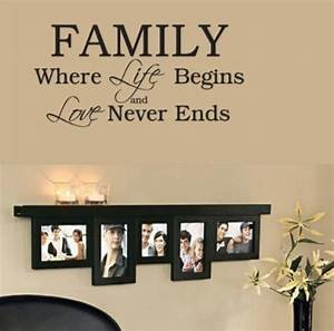11 diy wall quote art that will beautify your home for Family wall art