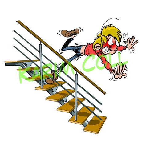 chute escalier karim coll flickr