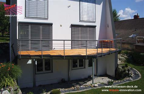 Balkone Und Terrassen by Balkon Terrassen Deck Direkt Vom Hersteller Krauss Gmbh