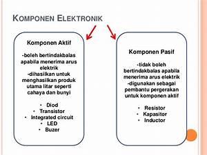 Elektronik Dan Sistem Kawalannya