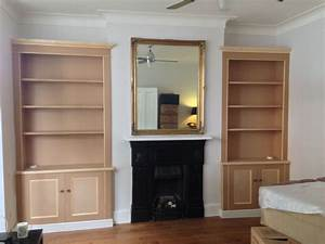 Unpainted Alcove Units Eltham - The BookCase Co