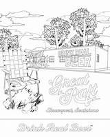 Coloring Grb Raft Pdf sketch template
