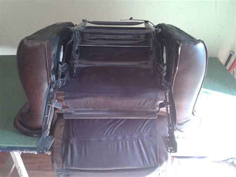 how to remove back of recliner sofa recliner sofa chair repair the sofa repair manthe sofa