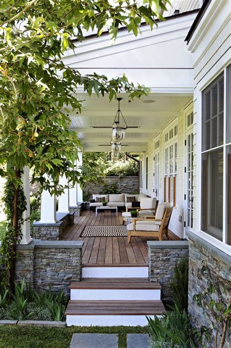 covered front porch ideas porch traditional  white