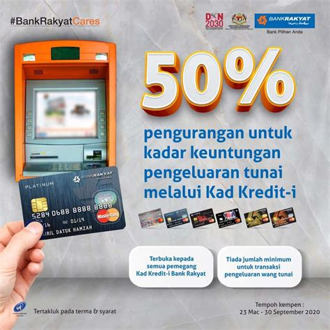 Whether you are interested in a lower interest rate, travel rewards, cash back or. Bank Rakyat Offers 50% Off Credit Card Cash Advance Profit ...