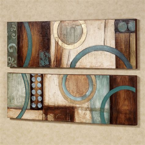 Shop brown wall decor in a variety of styles and designs to choose from for every budget. Best 15+ of Blue And Brown Abstract Wall Art