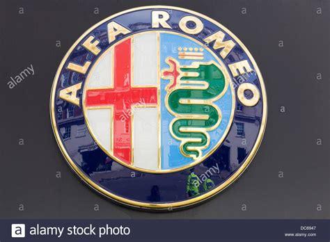 alfa romeo badge stock  alfa romeo badge stock