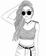Realistic Coloring Pages Drawing Starbucks Getdrawings Drawings Hipster Draw Faces Easy Outline Aline Sketches Ariana Grande Club Outlines Face Source sketch template