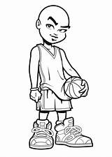 Lakers Coloring Pages Basketball Jordan Cartoon Drawing Michael Nba Lebron James Shoes Stephen Curry Air Toronto Draw Players Getdrawings Getcolorings sketch template
