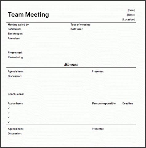 meeting minutes ou tline sampletemplatess