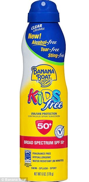 Banana Boat Sunscreen Blisters by Banana Boat Sunscreen Gives Toddler Blisters In Canada