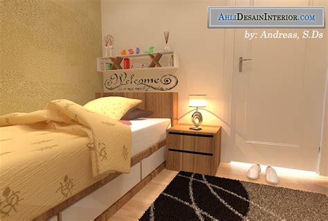 jasa desain kamar kost sederhana  mahasiswa karyawan
