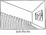 Coloring Pages Theater Movie Theatre Stage Template sketch template