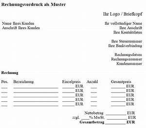 Rechnung Als Pdf : rechnungsvordruck vorlagen gratis ~ Themetempest.com Abrechnung