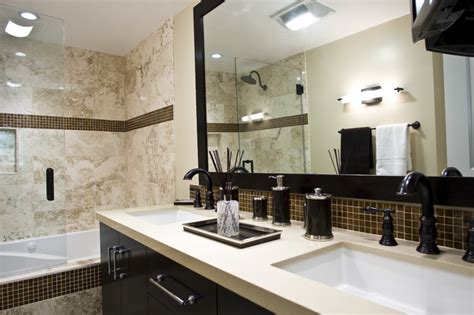 30 Ideas Of Mosaic Tile Framed Bathroom Mirrors