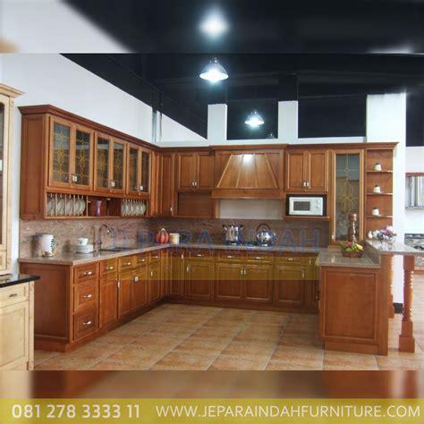 lemari dapur kitchen cabinet almari dapur  jepara