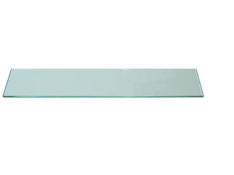 supporto mensola vetro mensola in vetro trasparente 80x15 cm hxl spessore 6 mm