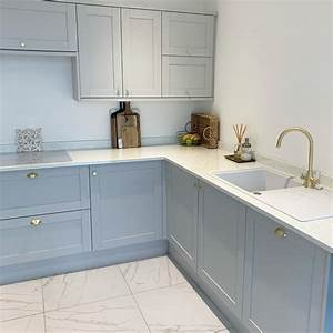 Allendale, Dove, Grey, Kitchen