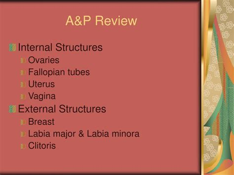 Ppt Female Reproductive Disorders Chapters 39 40