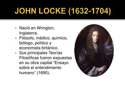 Locke Resumen Biografia by Presentaci 243 N De Locke