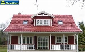 Haus Mit Veranda Bauen : skandihaus haustyp 142 schwedenhaus skandihaus das ~ Sanjose-hotels-ca.com Haus und Dekorationen