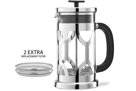 Top 10 Best French Press Coffee Makers Of 2017 Positive Health Benefits Of Coffee Vienna In German Percolator Brewing Method Display Table From Ikea Heart Living Room Roast Origin