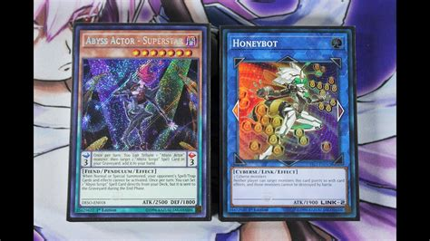 abyss actor card list yugioh abyss actor cyberse deck profile post link strike