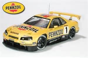 Nissan Skyline R34 Pennzoil