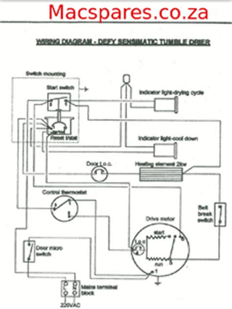 wiring diagram for beko tumble dryer image collections