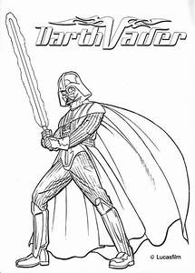 War armor of darth vader coloring pages - Hellokids.com