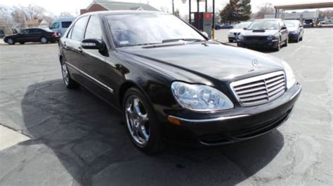 Free shipping on many items   browse your favorite brands   affordable prices. Find used 2004 Mercedes-Benz S600 Base Sedan 4-Door 5.5L in American Fork, Utah, United States ...