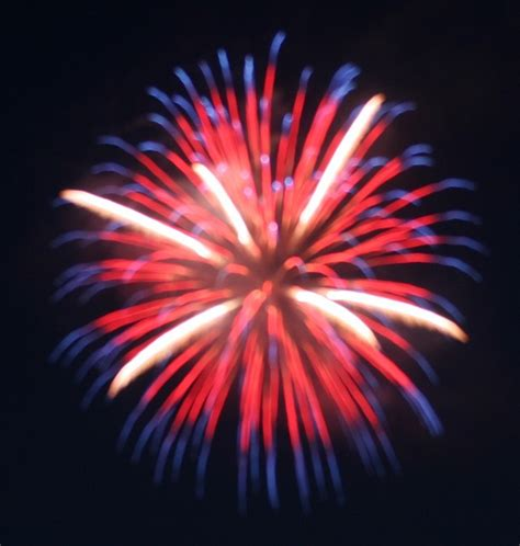 Red White and Blue Fireworks