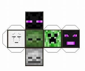 Minecraft papercraft Mob Block by GalaxyArtProduction2 on ...