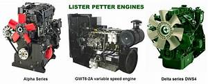 Lister Petter Engine Manuals  U0026 Parts Catalogs