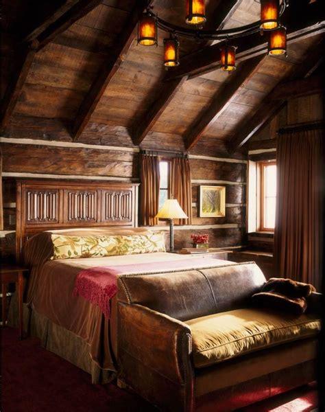 décoration de chambre à coucher 26 idées déco chambre à coucher de style rustique
