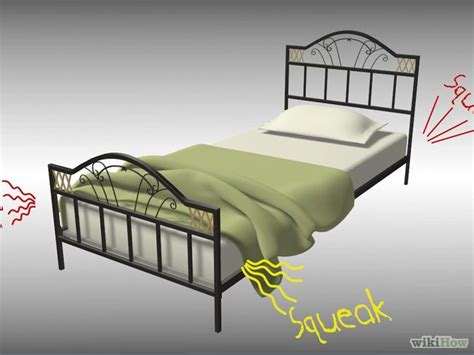 fix a squeaking bed frame metal beds beds and to fix