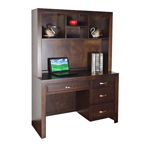 Pine Desk Hutch Sansa Solid Pine Timber Study Desk With Hutch
