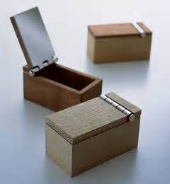 Wooden Wood Box with Hinges
