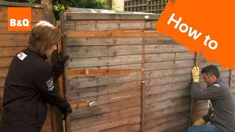 fix  broken fence youtube