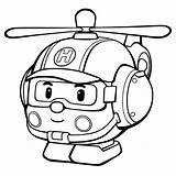 Poli Robocar Coloring Pages Colouring Helicopter Rescue Drawing Amber Fire Ambulance Bus Getdrawings Sweeper Street sketch template