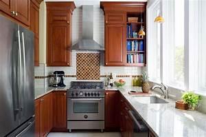 Cherry Kitchen With Medium  Warm-red Stain